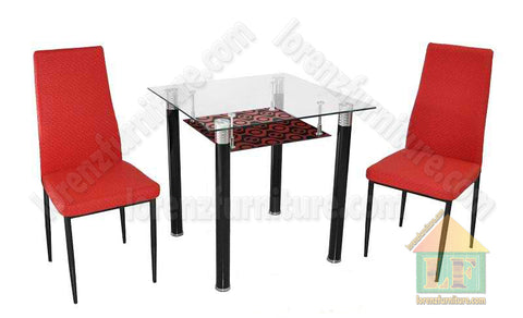 TS-2/B-22 Red Dining Set