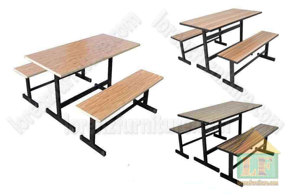 Canteen Table with Bench