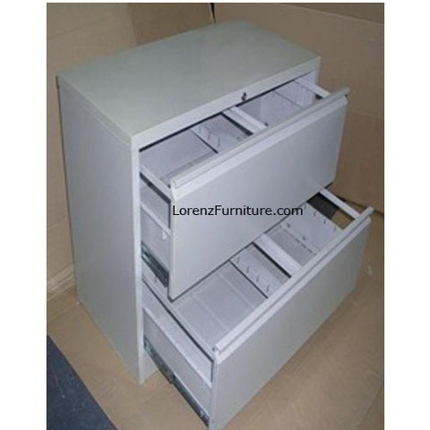 2 Layers Lateral Filing Cabinet LFC-02