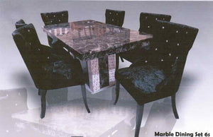 Marble Dining Set MT88/C25