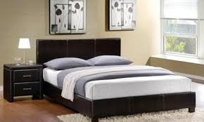 6010 LEATHER Bedframe