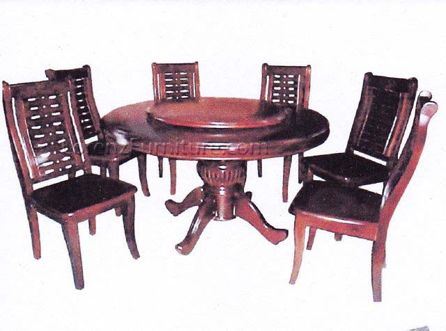 DT130 Six-Seater Round Dining Table