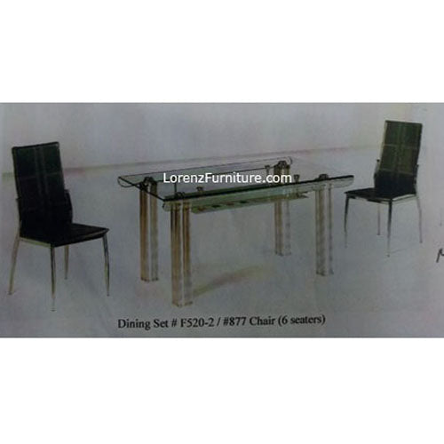 Dining Set F520-2/877 ‰ÛÒ 6 seater