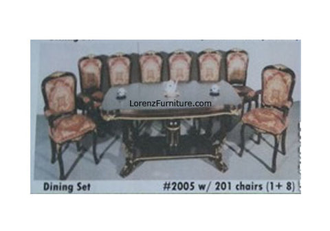 Dining Set #2005/201, 8 seater