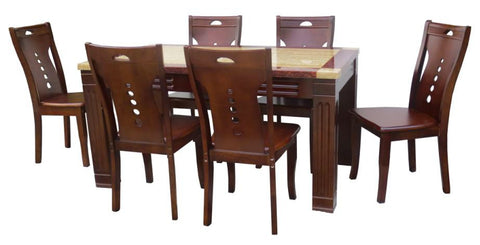 MH1/T16/303 Dining Set 6-Seater