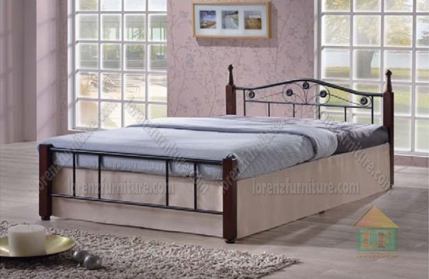 FA48 Wooden Post Bed