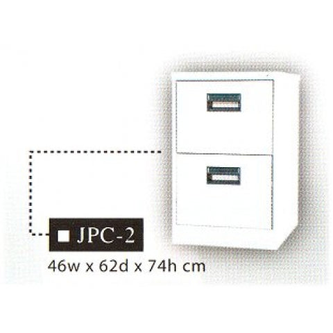 Vertical Filing Cabinet, 2-Layer, JPC-2