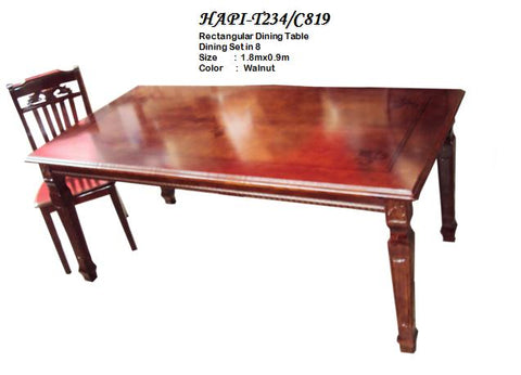 H-T234/C819 8-Seater Dining Table
