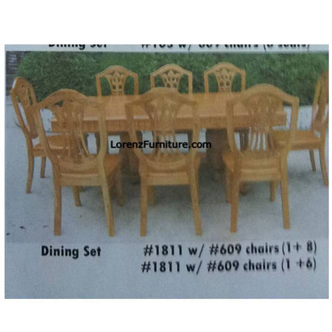 Dining Set, #1811 with 609 Chair
