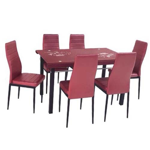 Red Dining 6 Seaters DANICA