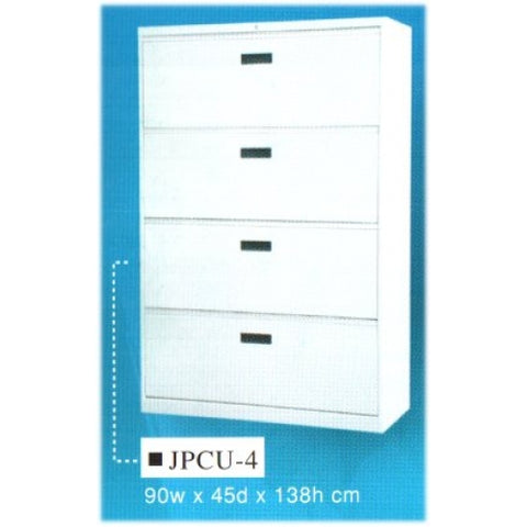 Lateral Filing Cabinet, 4-Drawer, JPCU-4