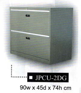 Lateral Filing Cabinet, 2-Layer, JPCU-2DG