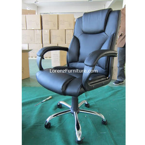 Executive Chair with Chrome Base M-6047S