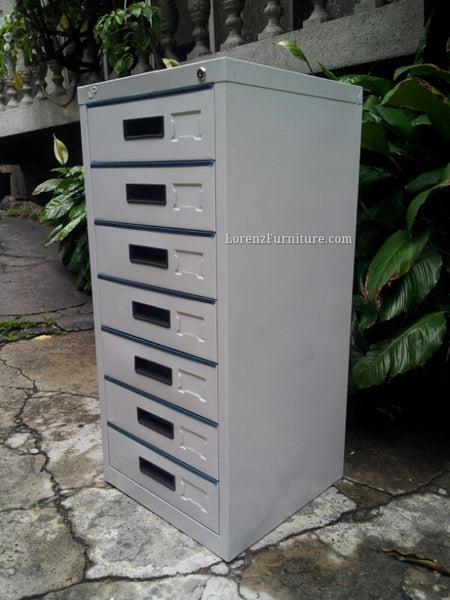 Vertical Filing Cabinet, 7 Drawer, JPC-17