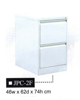 Vertical Filing Cabinet, 2-Drawer, JPC-2F