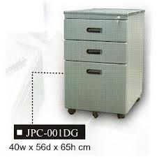 Mobile Pedestal, 3-Drawer, JPC-001 DG