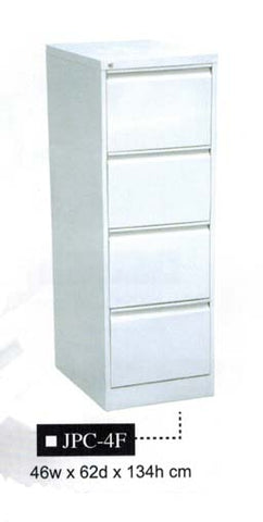 Vertical Filing Cabinet, 4 Drawer, JPC-4F