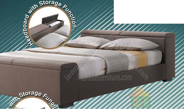 893b Leather Bed