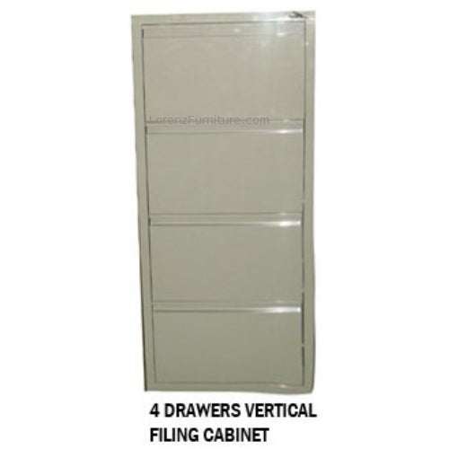 Radar 4 Drawers Vertical Filing Cabinet