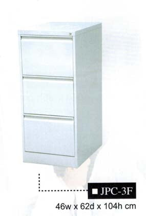 Filing Cabinet, Vertical, 3-Drawer JPC-3F