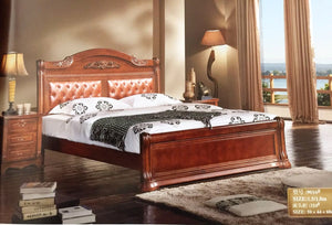 9016 Wooden bed