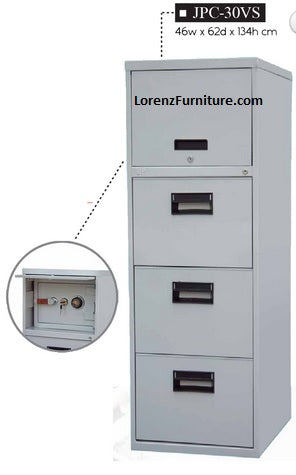 Filing Cabinet with Vault, JPC-30VS
