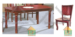 026/811 Wooden Dining Set