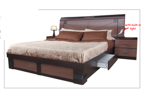 A8626 Bed with Drawers