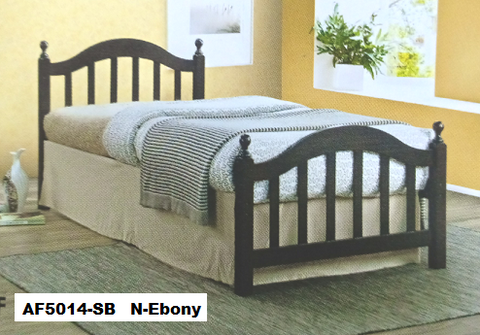 Ebony single bed