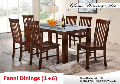 FANNI DINING SET 6S