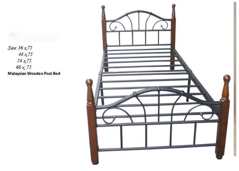 H502 Wooden Post Bed Sale Sale