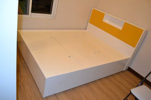 Snow White Storage Bed