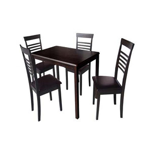 KARL Dining Table with 4 Chairs