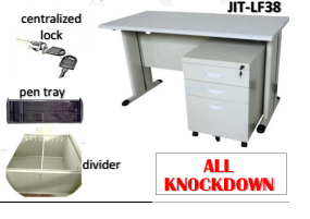 JIT-LF38 Office table with mobile padestal