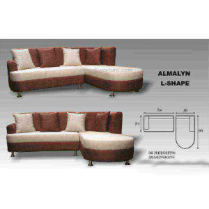 Almalyn L-Shape Sofa