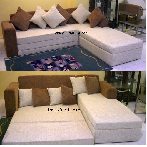 Artina L-Shaped Sofabed (Best Seller)
