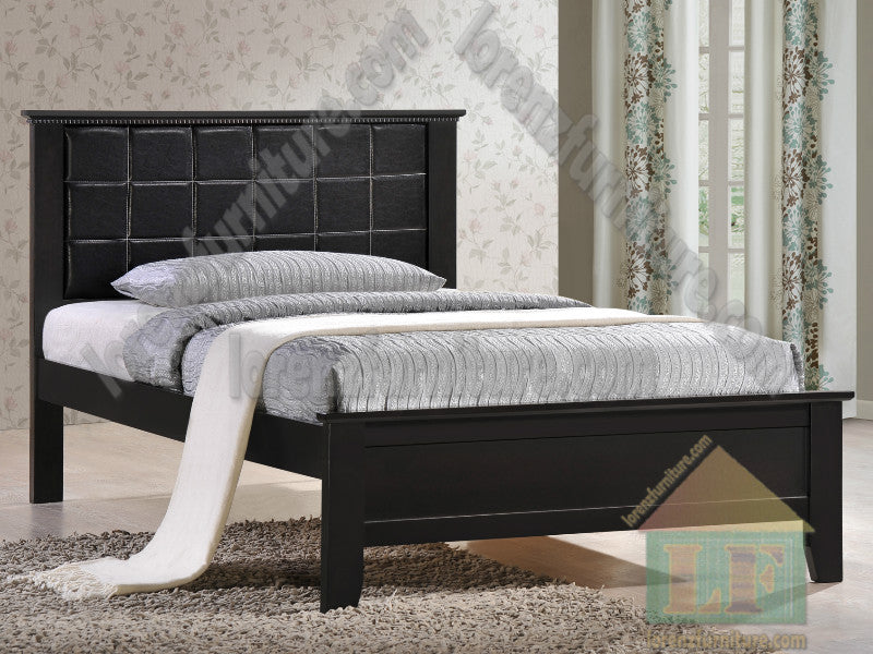 SB339PU Leather Bed