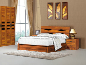 WB708 Bed Frame With Storage