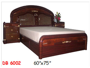 DB-6002 Wooden Bed Frame