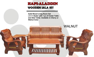 Aladdin Wooden Sala Set