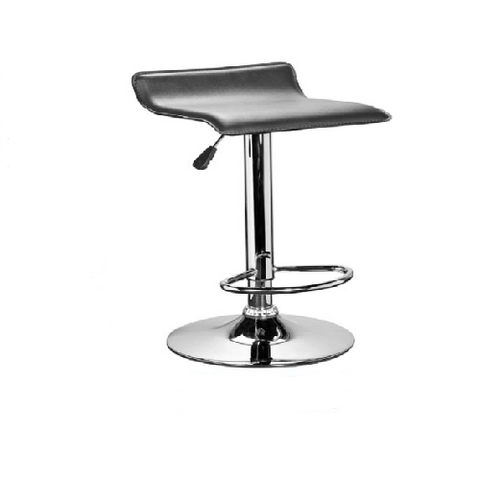 leather barstool streamlined seats