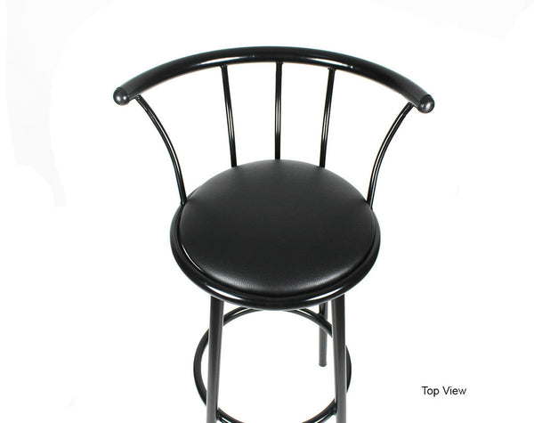 bar stool leather kz04