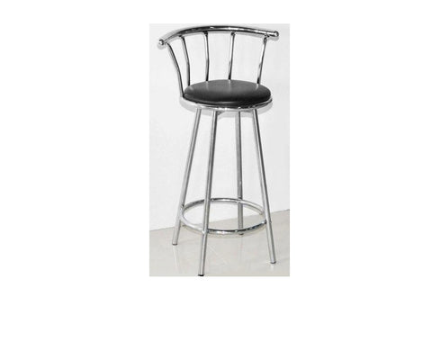 Revolving Bar Stool ZF02 Chrome