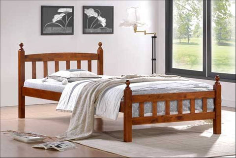 Chris wooden bed
