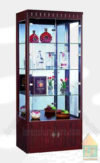 3028 Glass Display Cabinet