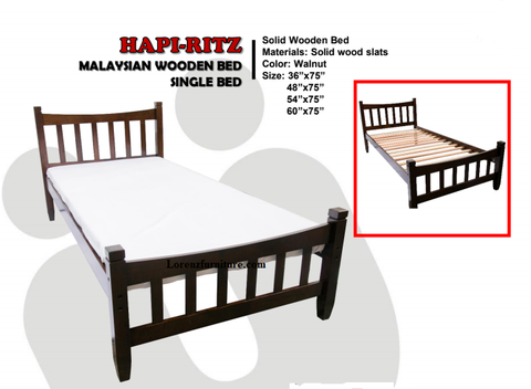 Ritz Wooden bed