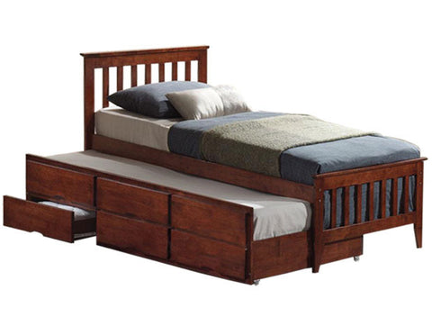 Galvin Trundle Bed With 2 Drawers