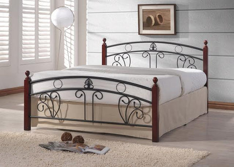 M-NV101 Wooden Post Bed