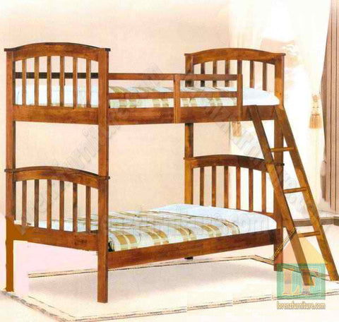 Alvin Double Deck Wooden Bed