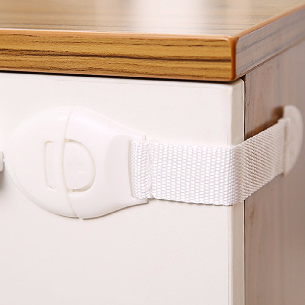 2018 Practical Children Anti Open Drawer Lock Multifunction Baby Anti Pinch Hand Cabinet Lock Baby Safety Protection New Arrival